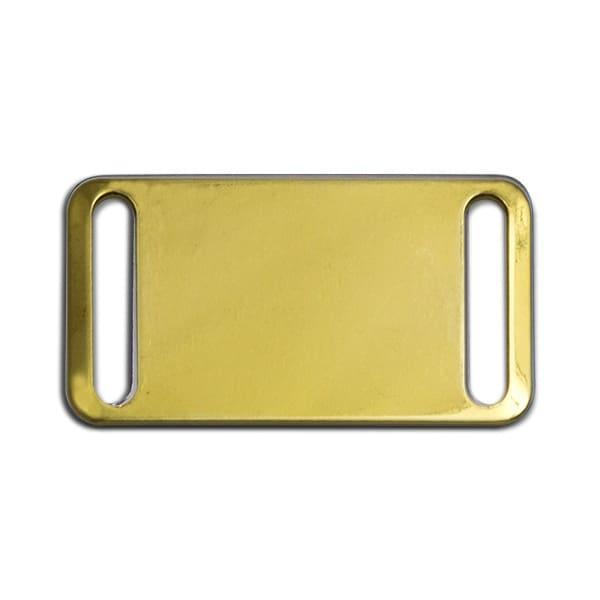 Plaque en laiton personnalis e pour collier chien - Plaque de laiton ...